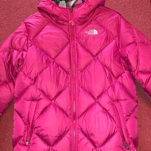 North Face Jacket! Brand New! REVERSIBLE! Girls XL